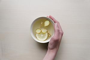 ginger tea for headache relief