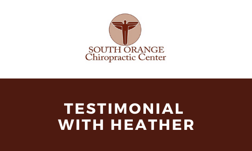 South Orange Chiropractic- Testimonial on Women's Health & Chiropractic Care for Pre/Post Pregnancy