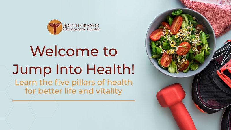 Jump into Health! Learn about the 5 Pillars of Health for Better Life and Vitality